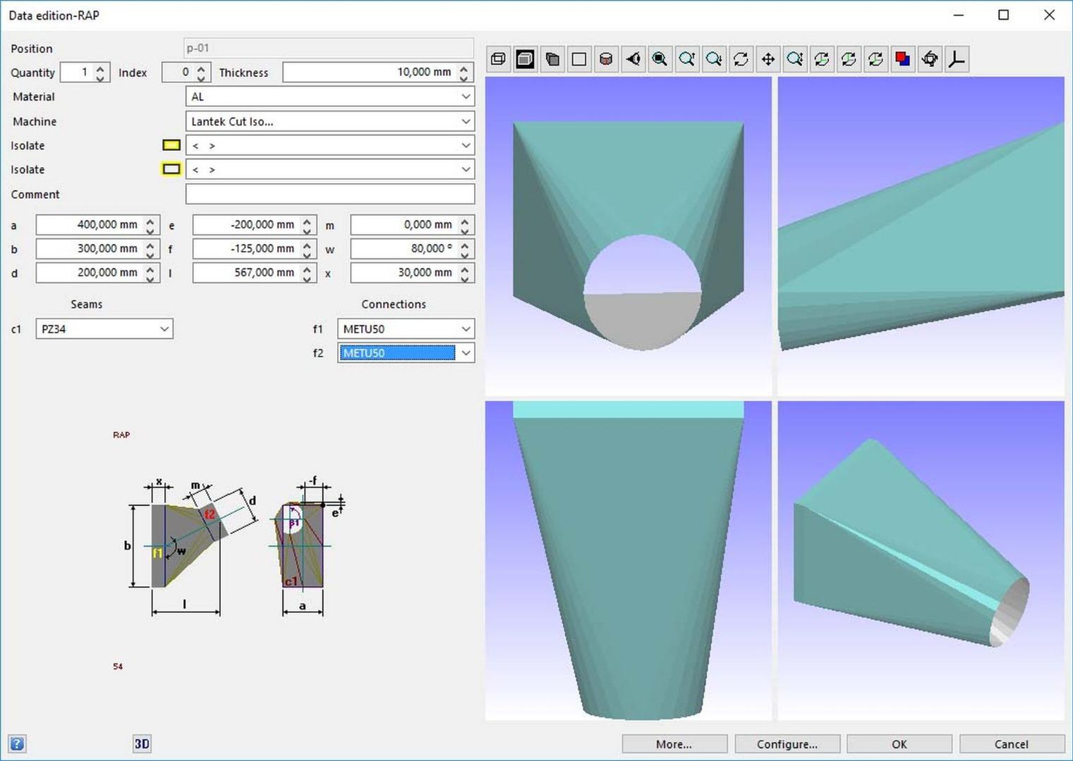 Vanad - ProNest nesting software